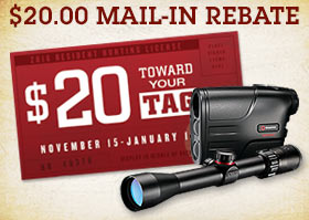 $20 Mail-In on Simmons Laser Rangefinders and Riflescopes
